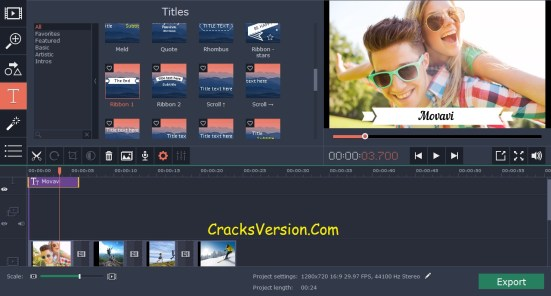 movavi video editor setup crack