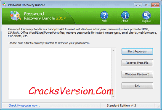 Password Recovery Bundle Serial Key & Crack Download