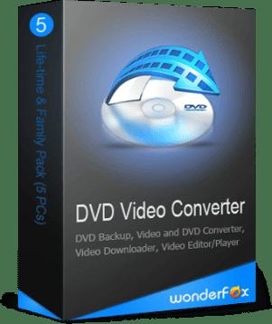 WonderFox DVD Video Converter Key with Crack Full Version