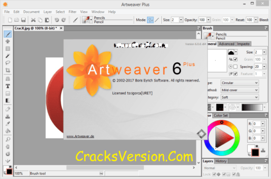 Artweaver Plus Crack With License Key Free Download