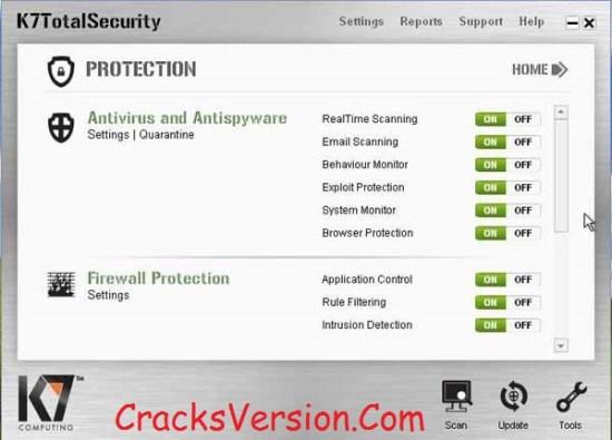 K7 Total Security 2018 Crack Download