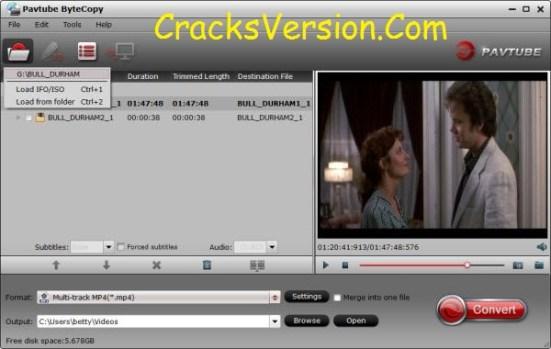 Pavtube ByteCopy Crack + Serial Key Free Download