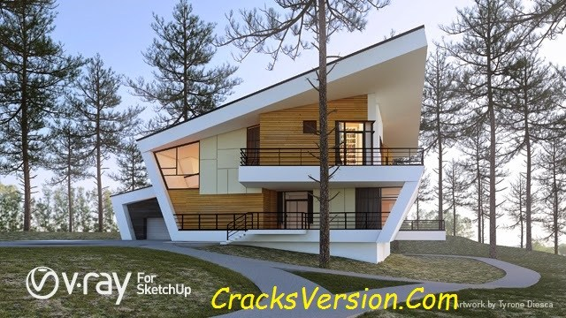 Vray For SketchUp 2018 Crack + License Key Full Free Download