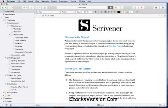 Scrivener MacOS Serial Number