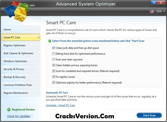 Advanced System Optimizer Key 2018