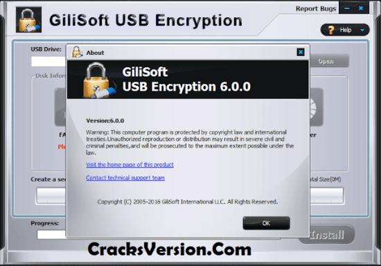 Gilisoft USB Encryption 6.1.0 Key