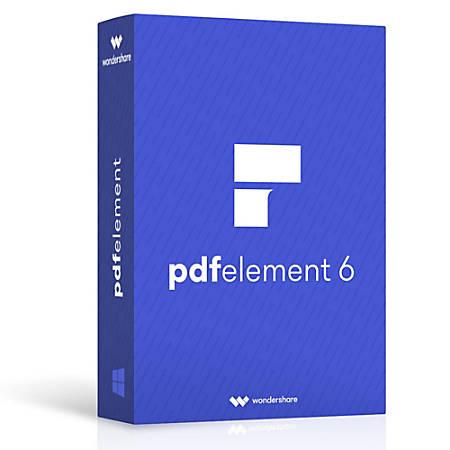 Wondershare PDFelement 6.8 Crack
