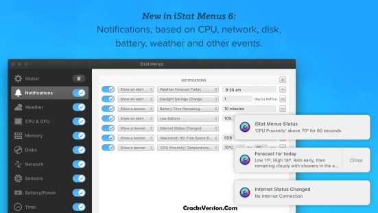 iStat Menus 6 License Key