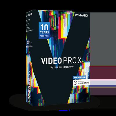 MAGIX Video Pro X10 Crack