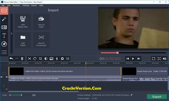 Movavi Video Editor 15 License Key