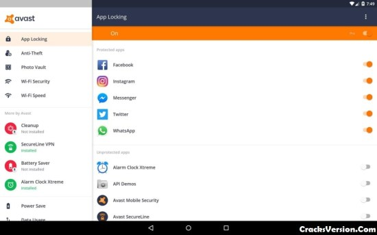 Avast Mobile Security License Key