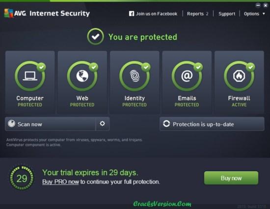 AVG Internet Security License Key