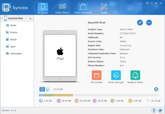 Anvsoft SynciOS Manager Pro Keygen