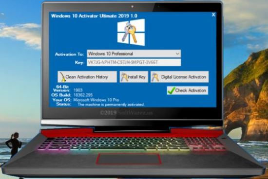 Windows KMS Activator Ultimate Activation Key