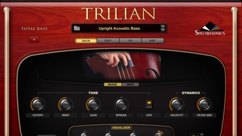 Spectrasonics Trilian 1.4.4C Vst Crack [Mac] Free Download