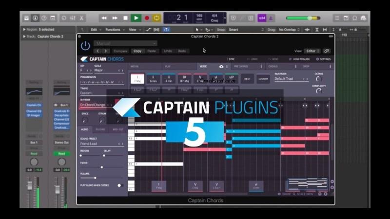 Captain Chords 5.1 Crack + Torrent VST Mac Download [2021]