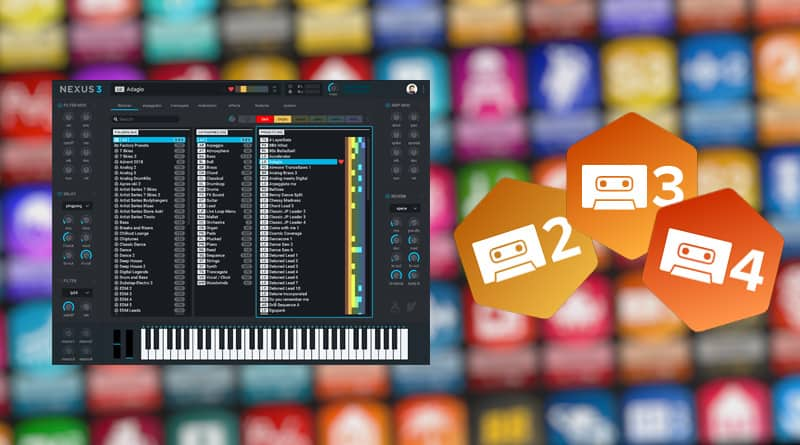 Nexus Expansion Pack Crack – 522 Trap Presets VST Free Download
