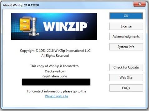 WinZip Serial key