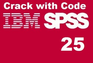 IBM SPSS 25 Crack Full License Key