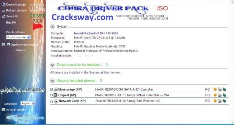 Cobra Driver Pack Full Version