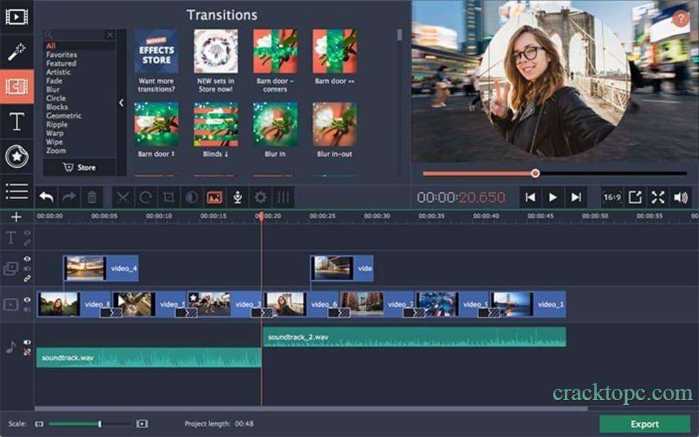 Movavi Video Editor torrent