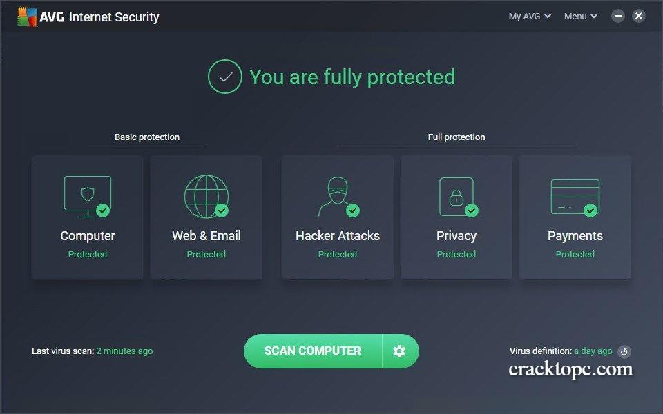 AVG Internet Security Torrent free download