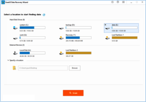 Easeus Data Recovery Wizard 12.9 Crack + License Code Full 2019