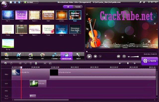 Wondershare Video Editor Crack Plus Registration Code 2020 [Latest]