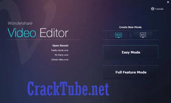 Wondershare Video Editor Crack Plus Registration Code {Latest}