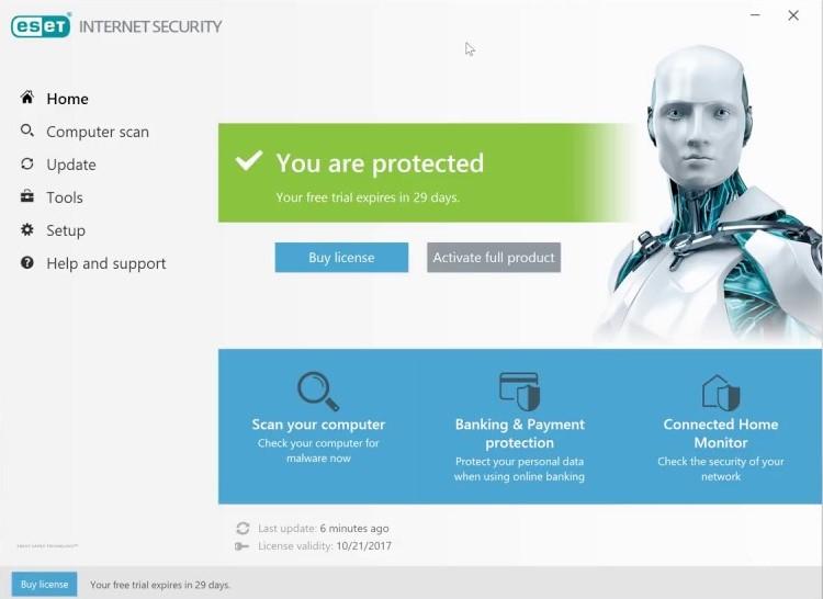 ESET Smart Security 11 License Key {Username & Password}