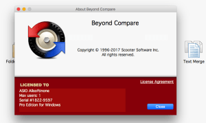 Beyond Compare 4.3.4 Keygen With Crack Free Download [Latest]