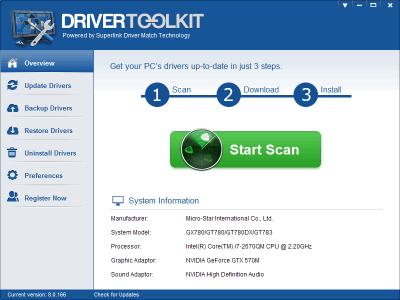 Driver Toolkit 8.6 License Key (Crack & Keygen) 100% Working
