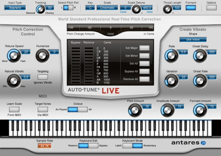 Antares AutoTune 8 Crack Mac Torrent Free Download