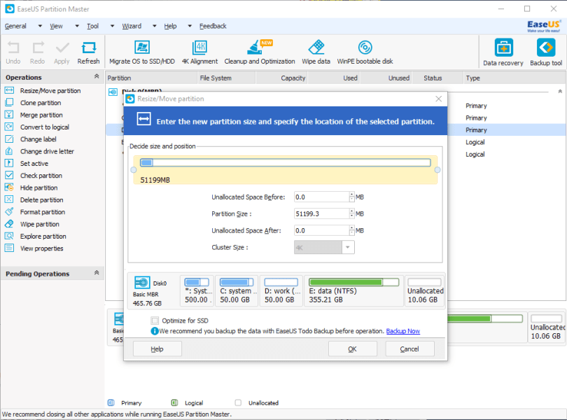 EaseUS Partition Master 16 Crack With License Code 2022 [Latest]