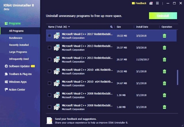 IObit Uninstaller PRO 8.4.0.7 Crack + Serial Key Free Download {Latest}