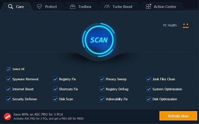 Advanced SystemCare 12.1.0 Pro Key {Crack + Keygen} Free Download