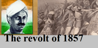 The Revolt of 1857