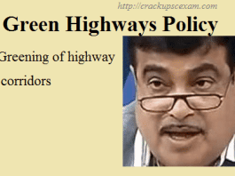 Green highways policy