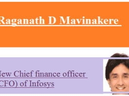 Infosys to appoint new CFO