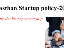 Rajasthan Startup Policy-2015