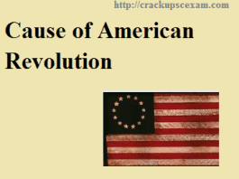 Cause of American Revolution