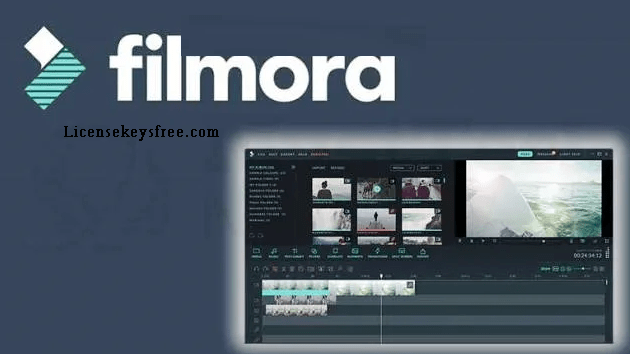 Wondershare Filmora 10.5.5.24 Crack Key With Activation Code