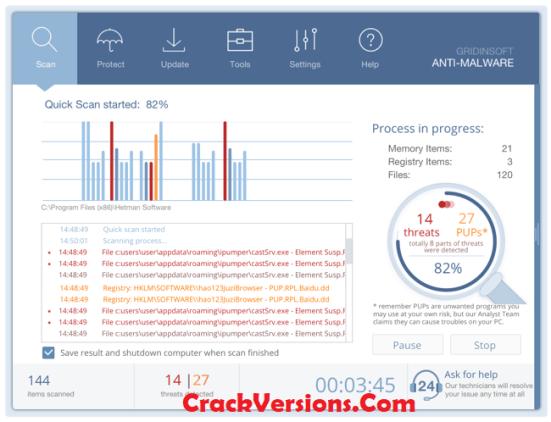 GridinSoft Anti-Malware Keygen
