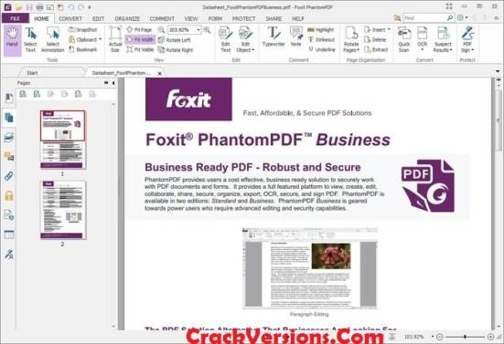 Foxit PhantomPDFBusiness 9 Serial Key