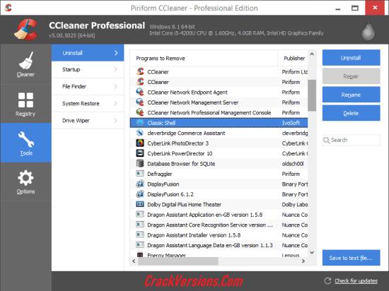 CCleaner Professional 5.53.7034 Crack Plus License Key ...