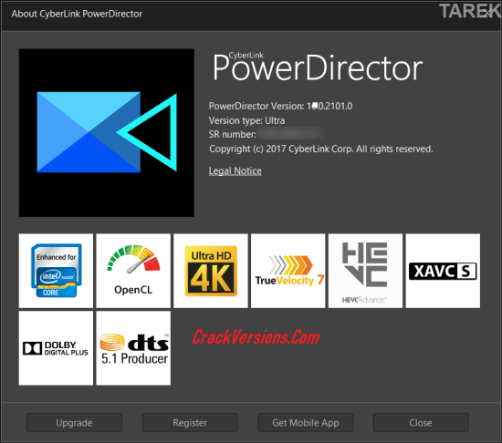 CyberLink PowerDirector 18 Keygen