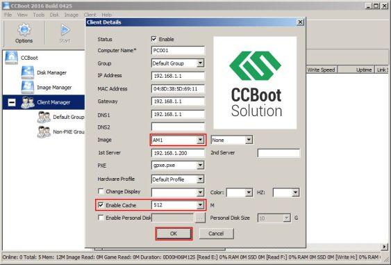 CCBoot Alternative
