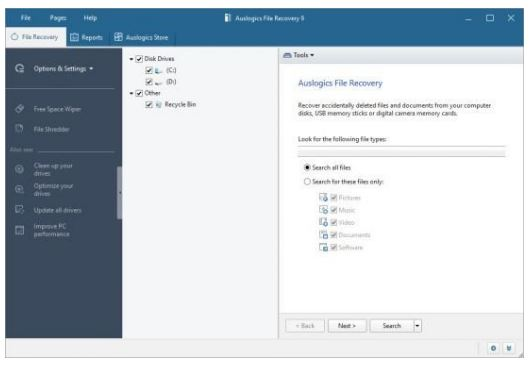 Auslogics File Recovery Serial Key