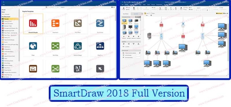 SmartDraw Crack Screenshot