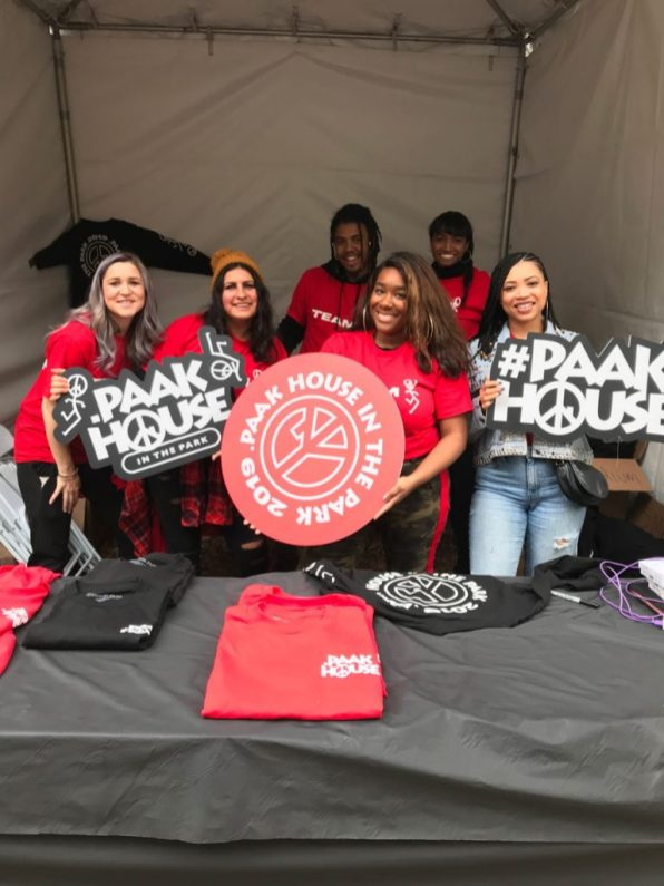 Paak House in the Park was an unforgettable event thanks to experiential marketing.